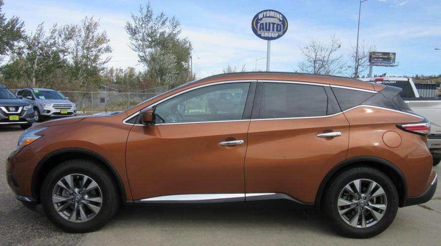 2016 Nissan Murano Platinum AWD (5N1AZ2MHXGN) with an 3.5L V6 DOHC 24V engine, CVT transmission, located at 3030 CY Ave, Casper, WY, 82604, (307) 265-3830, 42.827816, -106.357483 - Photo #0