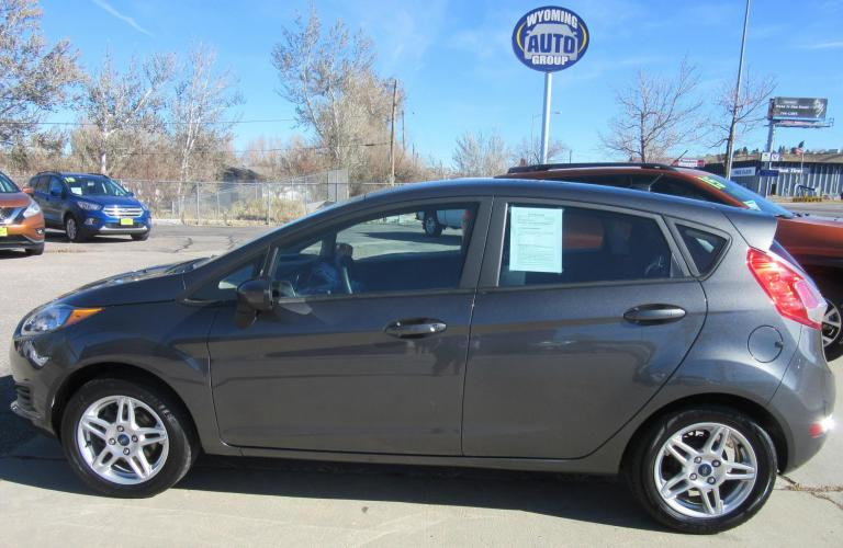 2019 Ford Fiesta SE Hatchback (3FADP4EJ8KM) with an 1.6L L4 DOHC 16V engine, located at 3030 CY Ave, Casper, WY, 82604, (307) 265-3830, 42.827816, -106.357483 - Photo #0