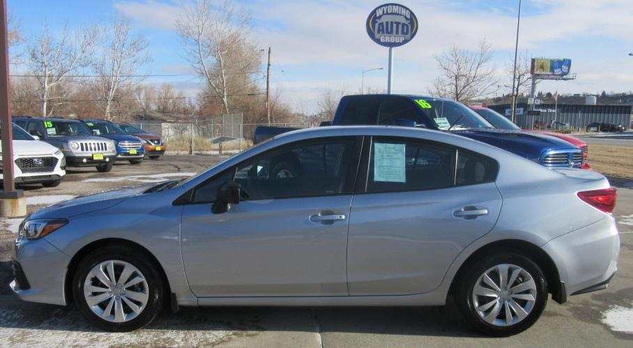 2020 Subaru Impreza 2.0i 4-Door (4S3GKAB68L3) with an 2.0L H4 DOHC 16V engine, CVT transmission, located at 3030 CY Ave, Casper, WY, 82604, (307) 265-3830, 42.827816, -106.357483 - Photo #0
